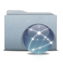 Folder Graphite Globe