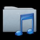 Folder Graphite Music