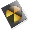 Burnable folder