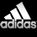 Adidas white logo