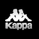 Kappa white logo