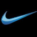 128x128 of Nike blue logo