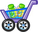 128x128 of Shopping cart