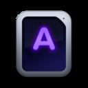 128x128 of Font