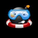 128x128 of Googles emoticon