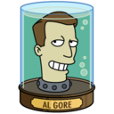 128x128 of Al Gore's Head