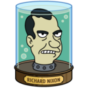 128x128 of Richard Nixon's Head