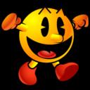 128x128 of Pacman