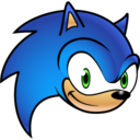 128x128 of Sonic