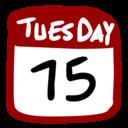 128x128 of Calendar 512x512