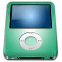 128x128 of IPod Nano Lime alt