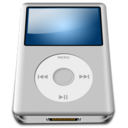 128x128 of IPod Silver alt