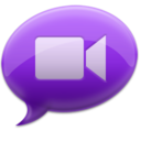128x128 of iChat Purple