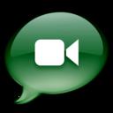 iChat donkergroen