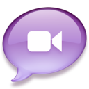 iChat purple