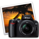 nikon d40 iphoto icon by darkdest1ny