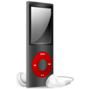 iPod Nano black and red off