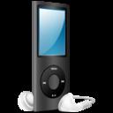 iPod Nano black on