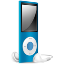 iPod Nano blue off