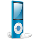 iPod Nano blue on