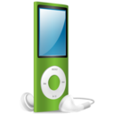iPod Nano green on