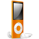 iPod Nano orange off