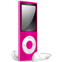 128x128 of iPod Nano pink off