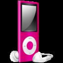 iPod Nano pink off