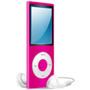 iPod Nano pink on