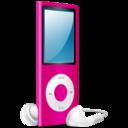 iPod Nano pink on