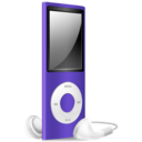 iPod Nano purple off