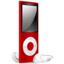 iPod Nano red off