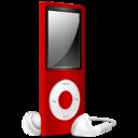 iPod Nano red off