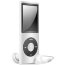 128x128 of iPod Nano silver  off