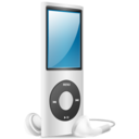 iPod Nano silver on