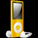 iPod Nano yellow off
