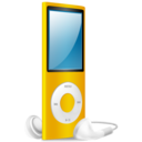 iPod Nano yellow on