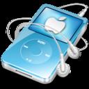 128x128 of ipod video blue apple