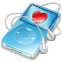 ipod video blue favorite