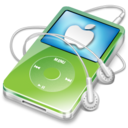 128x128 of ipod video green apple