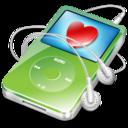 ipod video green favorite