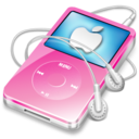 ipod video pink apple