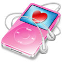 128x128 of ipod video pink favorite