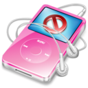 ipod video pink no disconnect