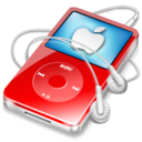 128x128 of ipod video red apple