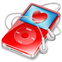 128x128 of ipod video red favorite