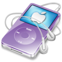 128x128 of ipod video violet apple