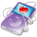 128x128 of ipod video violet favorite