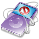 ipod video violet no disconect