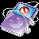 ipod video violet no disconect